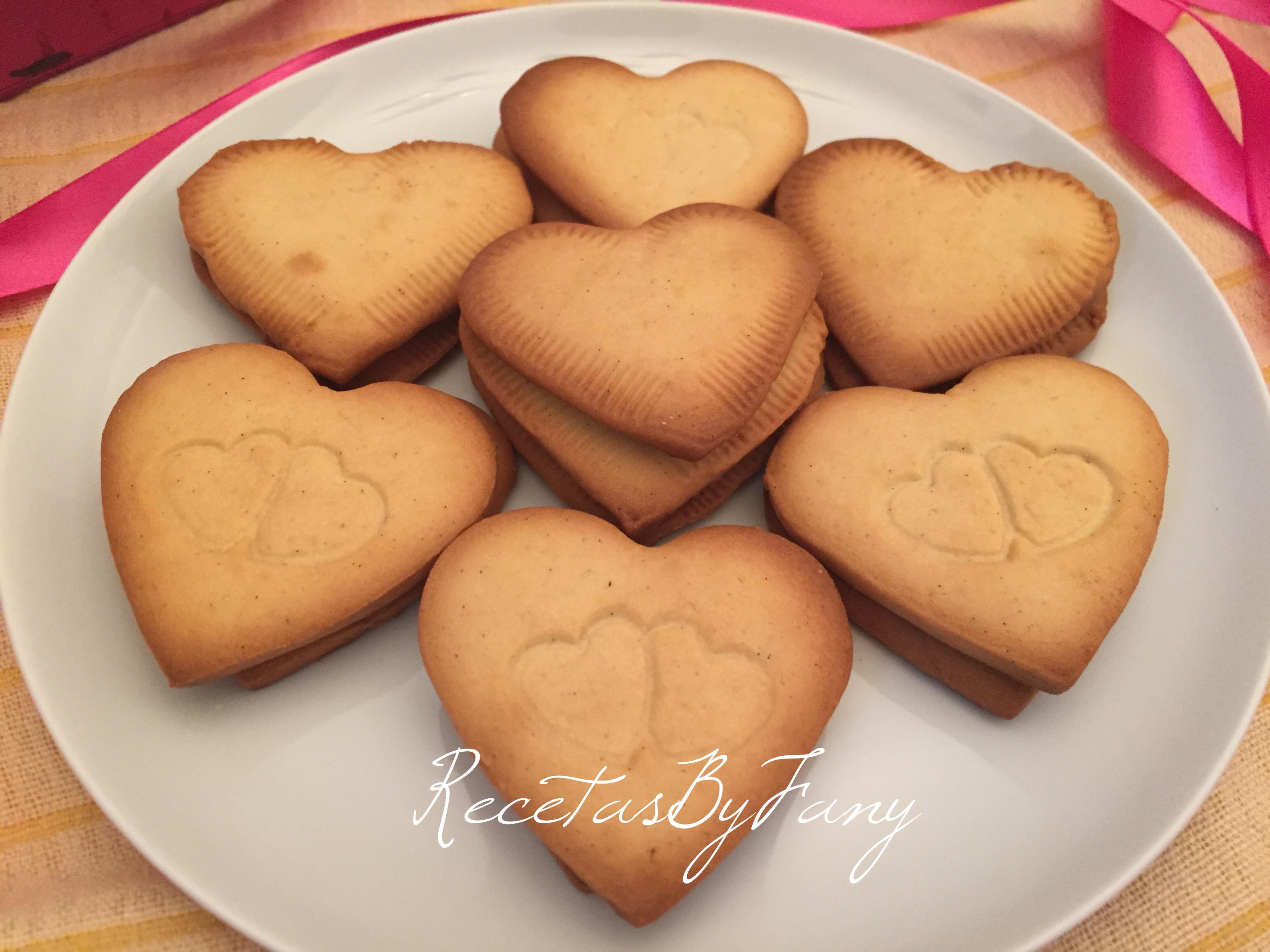 Receta para 40 galletas de mantequilla